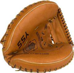 Bőr balkezes baseball kesztyű, felnőtt
