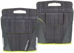 Starling Oval kerékpáros táska, szürke