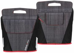 Starling Oval kerékpáros táska, szürke-fekete
