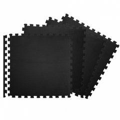 Spokey Scrab puzzle szőnyeg szett, fekete