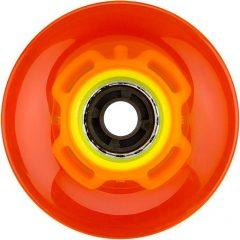 Nijdam LED világító gördeszka kerék, narancs