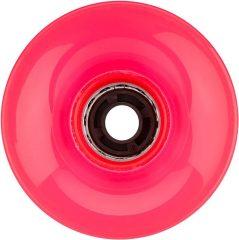 Nijdam LED világító gördeszka kerék, pink