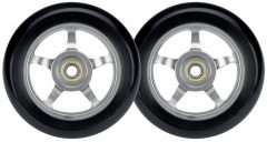 Fekete Alu stunt roller kerék, 100 mm