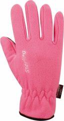 Starling Snowflakes női polár kesztyű, pink