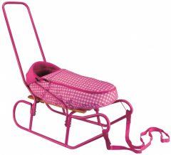 Nijdam lábzsákos gyerek szánkó, pink