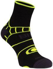 Avento biciklis zokni, sárga-fekete