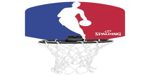 Spalding NBA Logoman mini kosárpalánk