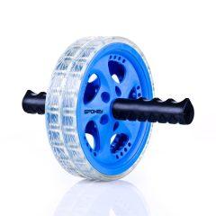 Spokey Twin B II hasizomerősítő kerék, kék