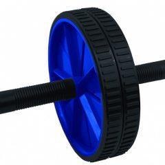 Spokey Twin II hasizomerősítő kerék, kék