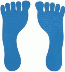 Padlójelölő lábnyom, kék