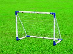 Műanyag focikapu, 120x90x60 cm