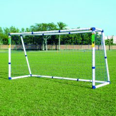 Műanyag focikapu, 244x150x108 cm