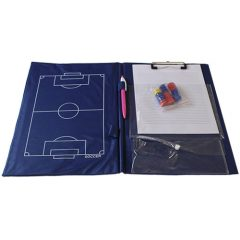 Football taktikai tábla, edzőmappa