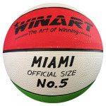 Winart Miami Tricolor II kosárlabda, 5