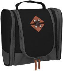 Abbey Smart Travel tisztasági táska, fekete