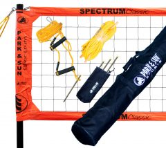 Spectrum Classic röplabdaháló szett, narancs