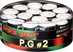 Pro's Pro P.G.2 fedőgrip 30 db, fehér