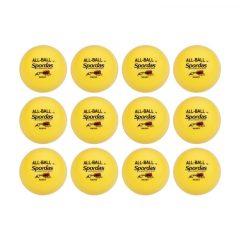 All Ball Yellow szett, 12 db