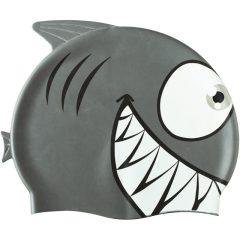 Shark gyerek szilikon úszósapka, 12 db
