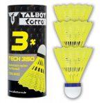 Talbot-Torro Tech 350 közepes tollaslabda, 3 db