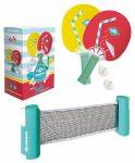 Schildkröt Spin Tropical ping-pong szett hálóval