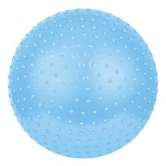 Spokey Saggio Fit tüskés gimnasztika labda pumpával, 65 cm