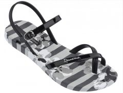 Ipanema Fashion Sandal V női szandál, szürke/fekete 82291-21869