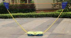 Badminton Direct legyezős tollaslabda háló szett, 3 m
