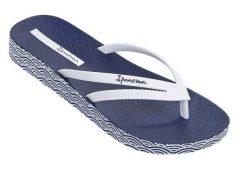 Ipanema Bossa Soft női papucs, kék/fehér, 82064-21308