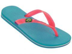 Ipanema NEW Classic Brasil Kids Gyerek Papucs, türkiz/pink