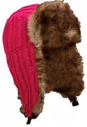 Starling Expedition kötött téli sapka, pink