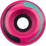 Retro görkorcsolya kerék szett, pink 4db