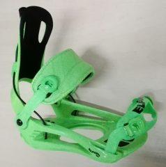 ELFGEN '84 Rage FT720 Flow System  snowboard kötés,neon green