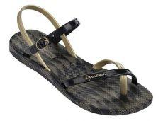 Ipanema Fashion Sandal IV női szandál, fekete/arany
