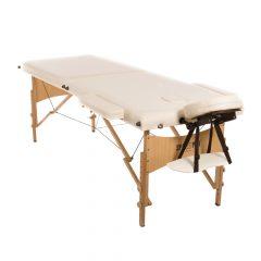 Masszázs asztal, masszázságy fa szerkezetű