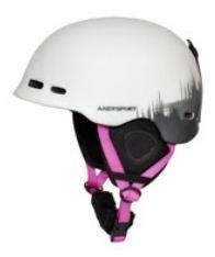 Axer Vesta sí és snowboard sisak , white/pink
