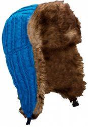Starling Expedition kötött téli sapka, kék