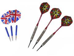 Baili soft darts nyíl készlet, 18g (darts szett)
