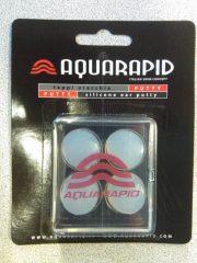 Aquarapid szilikon füldugó, 2 pár