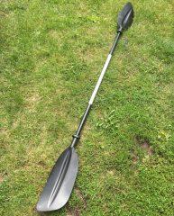 Kajak evező, aszimmetrikus, 2 részes, 220 cm